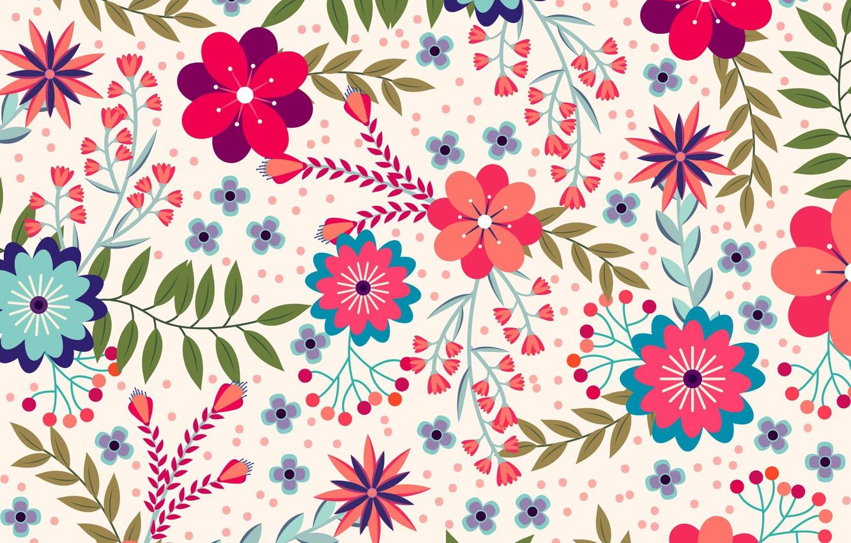 Cute Floral Wallpaper Wallpapers Gallery