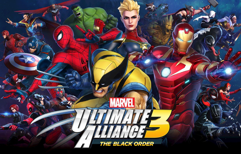 Wallpaper Team Ninja Nintendo Switch Marvel Ultimate Alliance 3