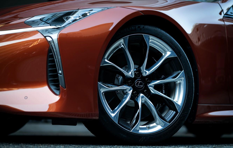 Photo wallpaper wheel, Lexus, convertible, 2021, LC 500 Convertible