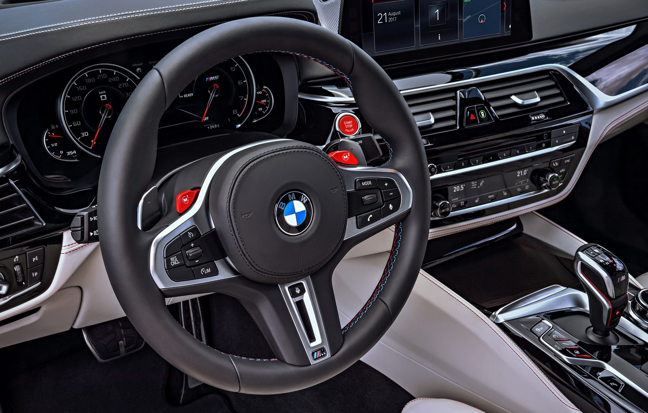 Photo wallpaper devices, BMW, the wheel, 2017, M5, F90, M5 First Edition