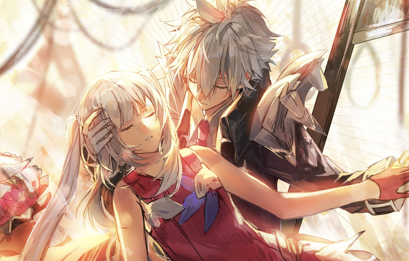 Photo wallpaper romance, two, Fate / Grand Order, The destiny of a great campaign