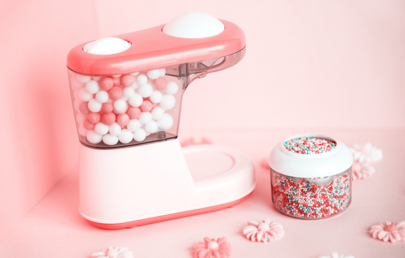 Photo wallpaper background, sweets, pink, background, sweet, candy, gum, gum