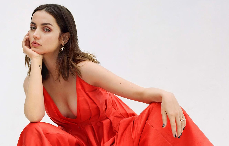Wallpaper Look Girl Pose Earrings Actress Beauty Ana De