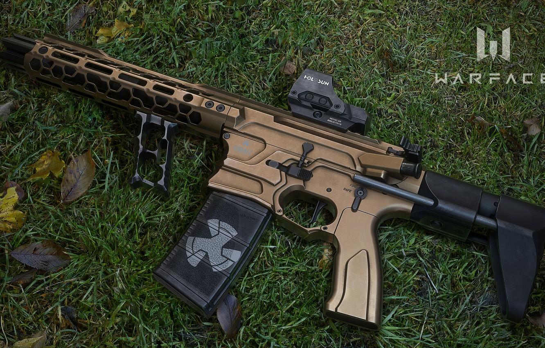 Photo wallpaper rendering, weapons, rifle, weapon, render, custom, render, 3d art, ar-15, assault rifle, assault Rifle, Cobalt …