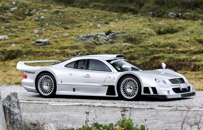 Wallpaper Mercedes-Benz, Road, Stones, GTR, CLK, 1997 ...