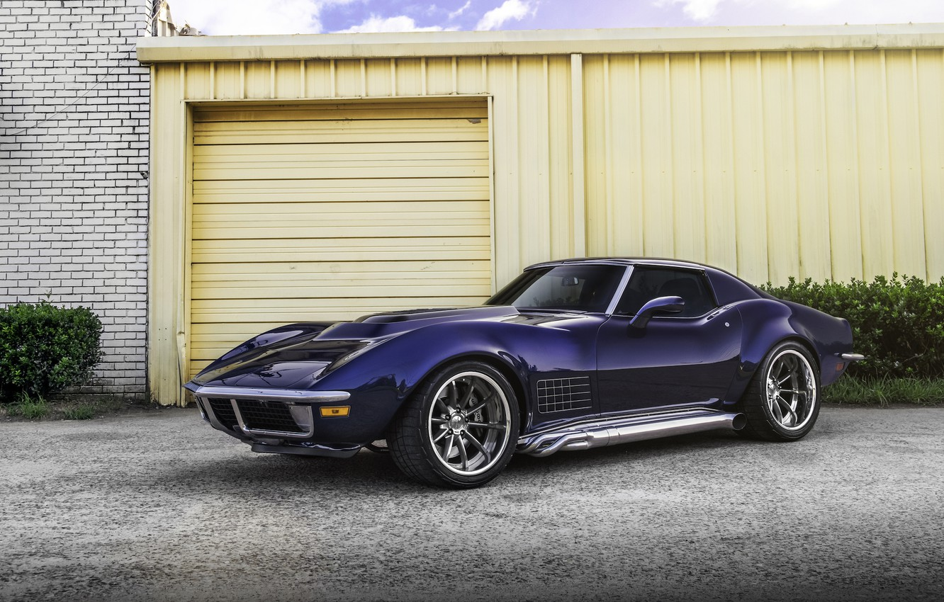 Photo wallpaper Corvette, Chevrolet, Wheels, Forgeline