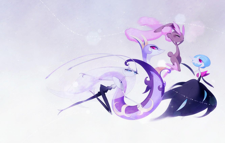 Photo wallpaper Background, Pokemon, Pokemon