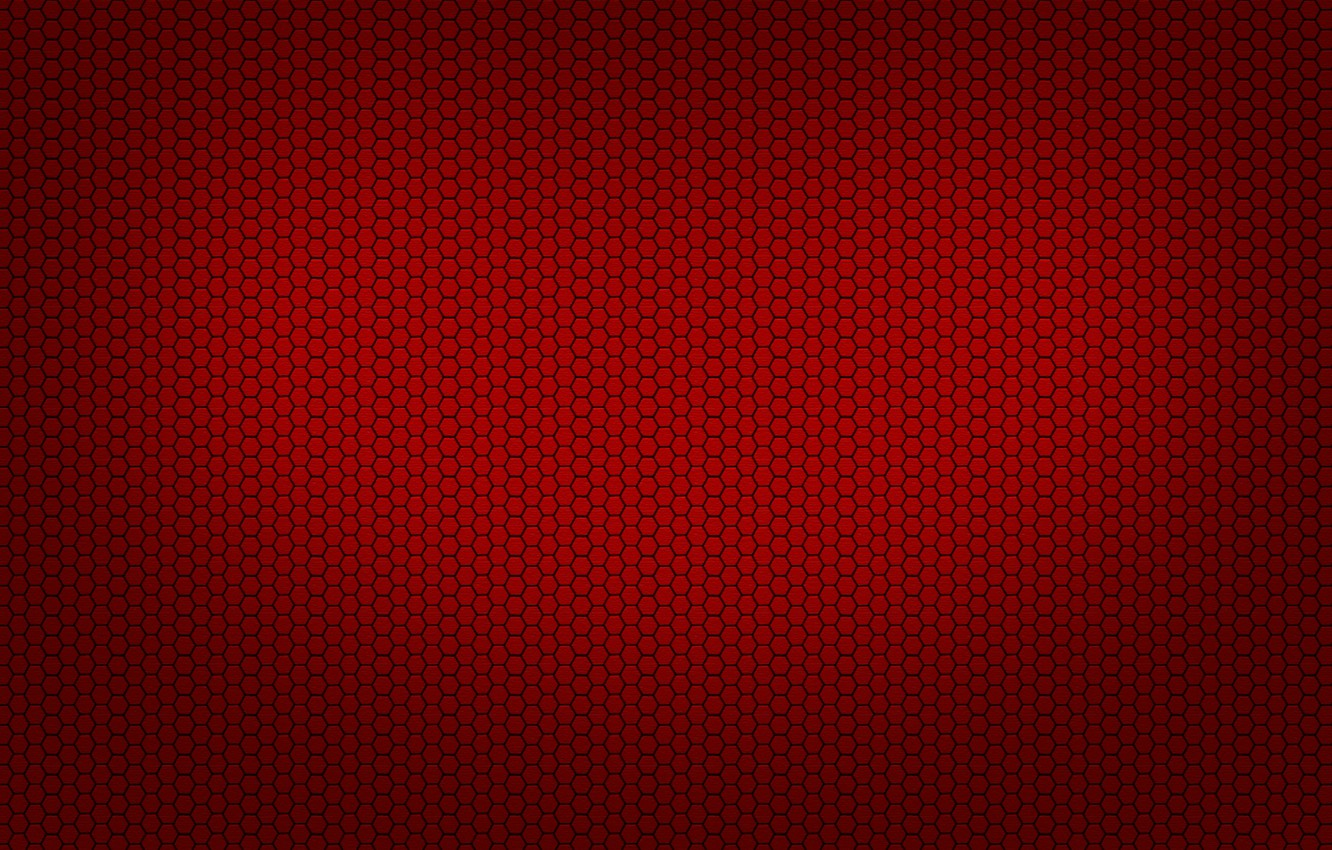 Photo wallpaper Red, red, black, grid