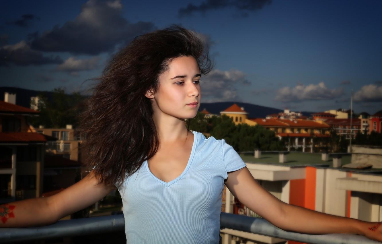 Photo wallpaper girl, beauty, Bulgaria, Kide foto art, Sunny Beach, Anastasia Benetton