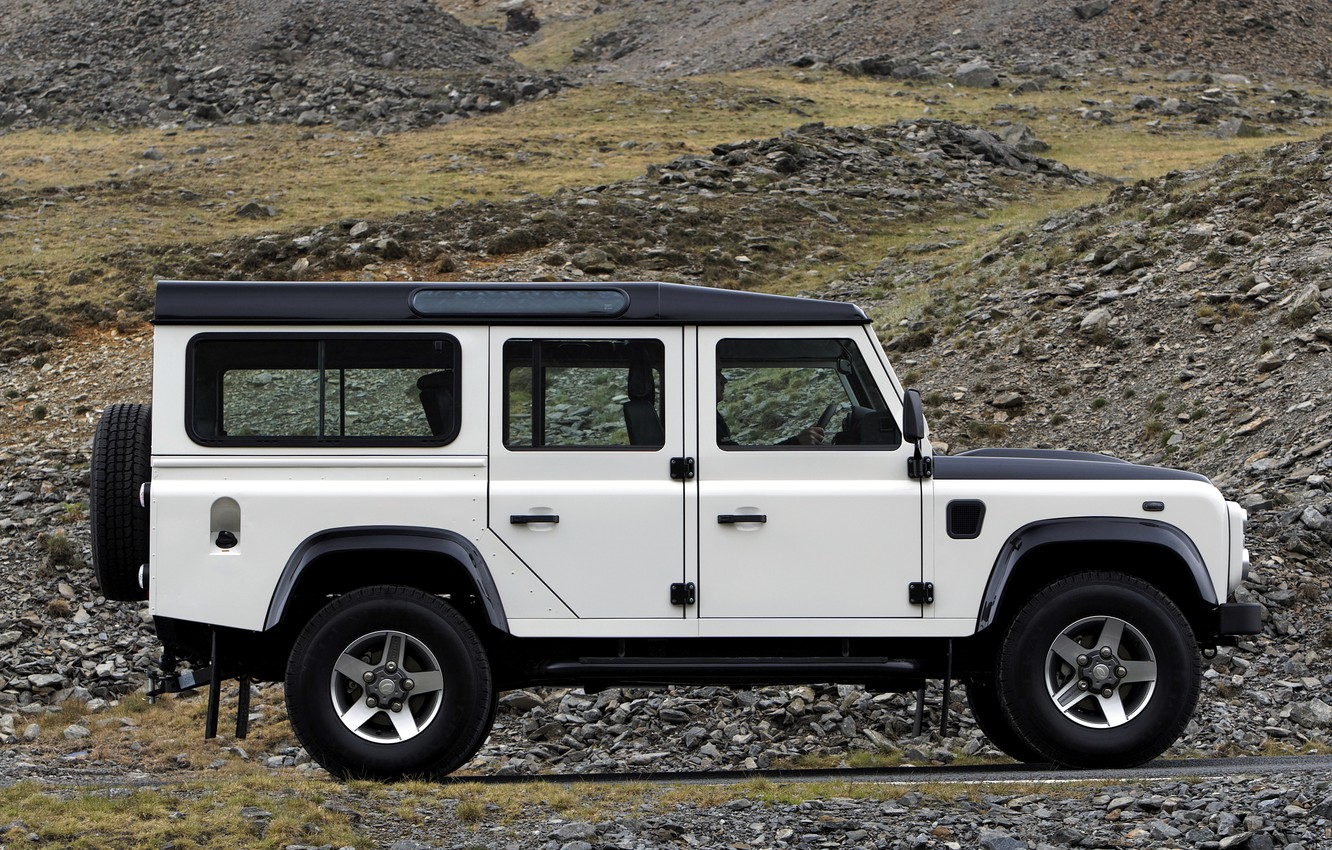 Photo wallpaper Land Rover, side view, 2009, Defender, Limited Edition
