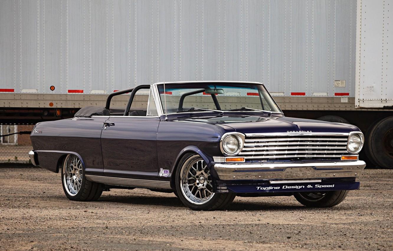 Photo wallpaper Chevrolet, Car, Nova, Convertible, Chevy SS