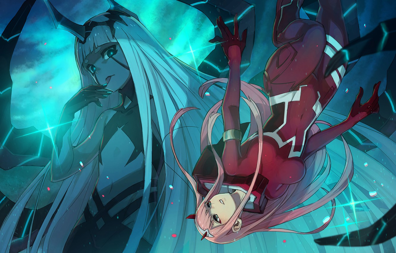Photo wallpaper girls, anime, Darling In The Frankxx, Cute in France