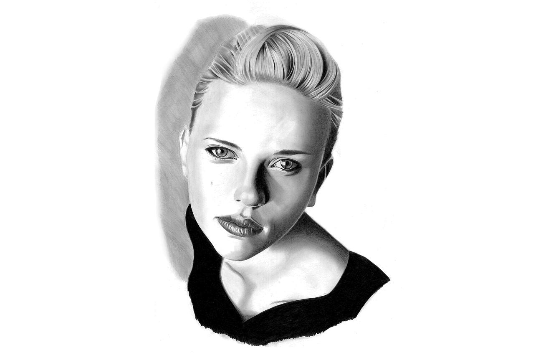 Photo wallpaper girl, portrait, actress