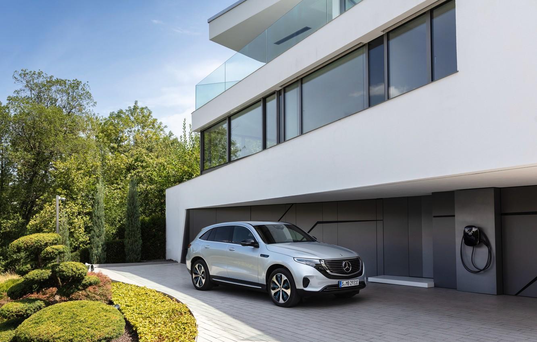 Photo wallpaper Mercedes, 4Matic, EQC400, EQC