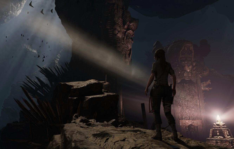 Photo wallpaper girl, Tomb Raider, Lara Croft, Lara Croft, tomb raider, screenshot, Shadow of the Tomb Raider, …