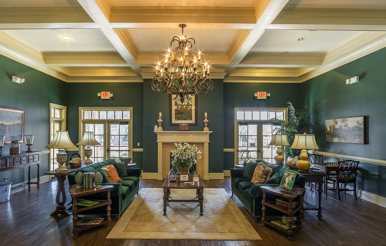 Photo wallpaper room, interior, furnished