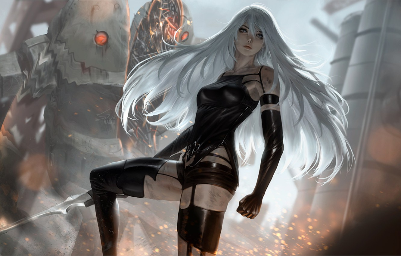 Wallpaper Girl Nier Automata Yorha Type A No 2 Images For