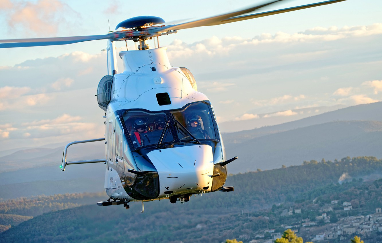 Photo wallpaper Helicopter, Airbus Helicopters, H160, Airbus H160