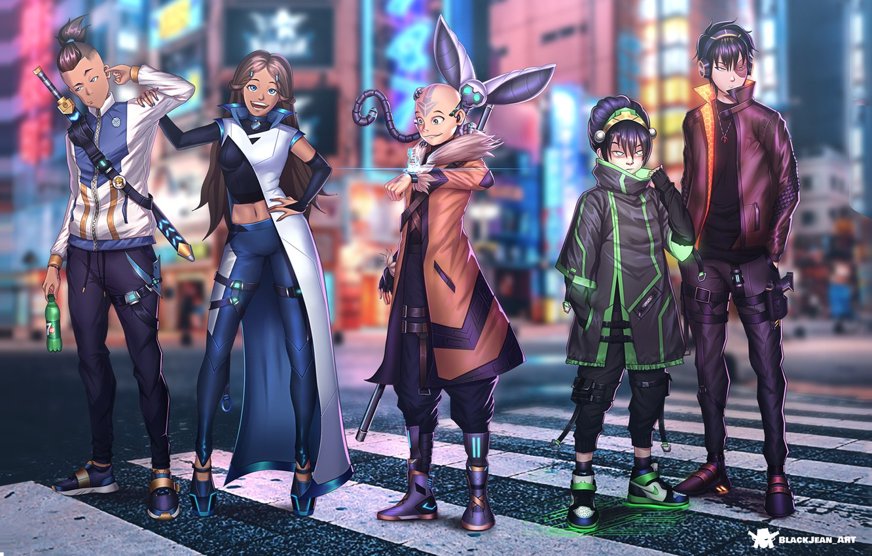 Photo wallpaper Avatar, Avatar, Cyberpunk, Cyberpunk, 2021, Анк