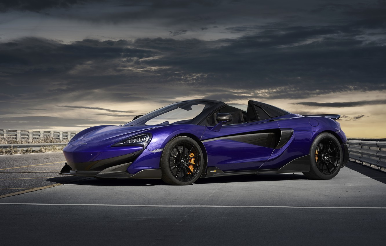Wallpaper McLaren, supercar, Spider, 2019, 600LT, Lantana ...
