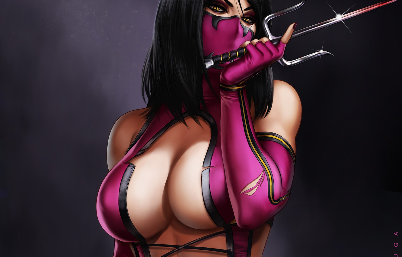 Photo wallpaper Mortal Kombat, Mileena, by dandonfuga