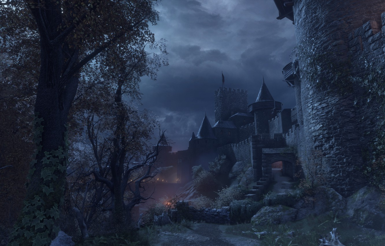 Wallpaper The Sky Night Castle A Plague Tale Innocence Images