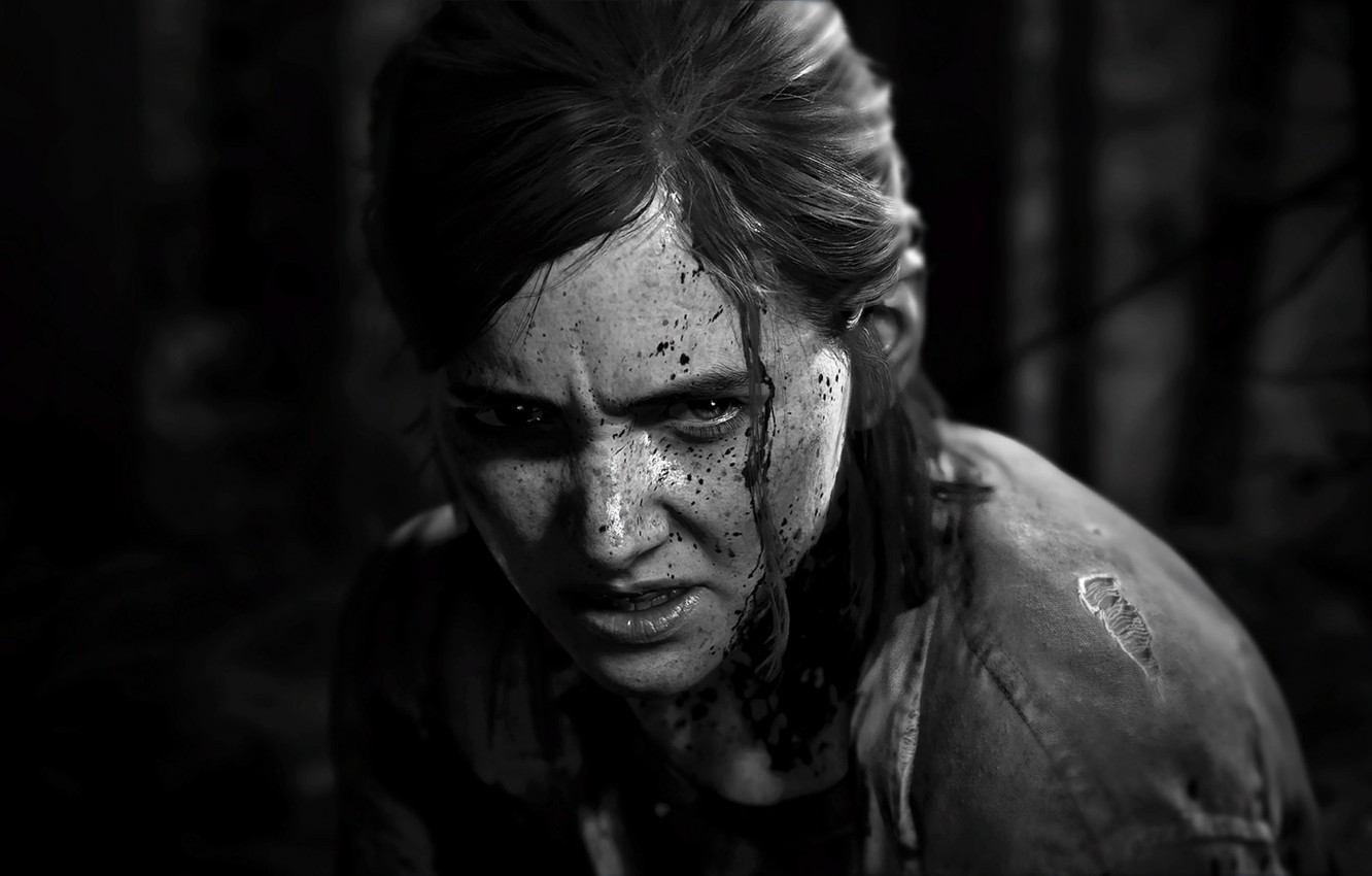 Photo wallpaper Naughty Dog, Ellie, PS4, The Last of US Part II