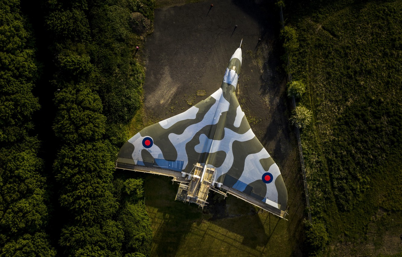 Photo wallpaper weapons, Avro Vulcan, nuclear bomber