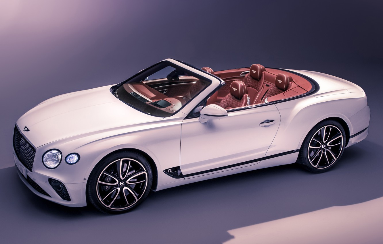 Photo wallpaper Bentley, Continental GT, Convertible, Bentley Continental GT, Bentley Continental GT Convertible 2019