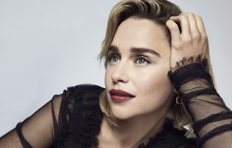 Wallpaper Earrings Actress Lips Emilia Clarke Emilia