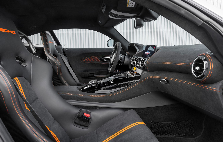 Photo wallpaper Mercedes, salon, AMG, C190, 2020, Worldwide, GT Black Series