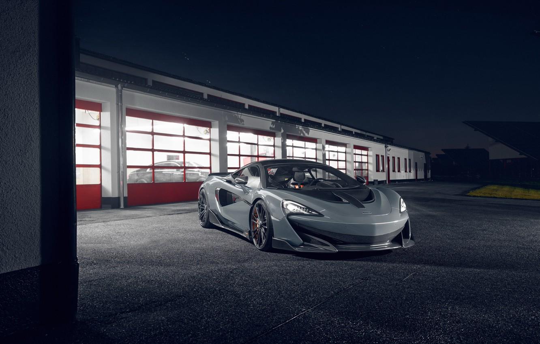 Photo wallpaper lights, McLaren, sports car, drives, Novitec, 600LT
