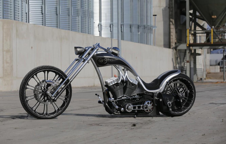 Photo wallpaper Chopper, Harley-Davidson, Custom, Motorbike, Thunderbike, Flawless 2