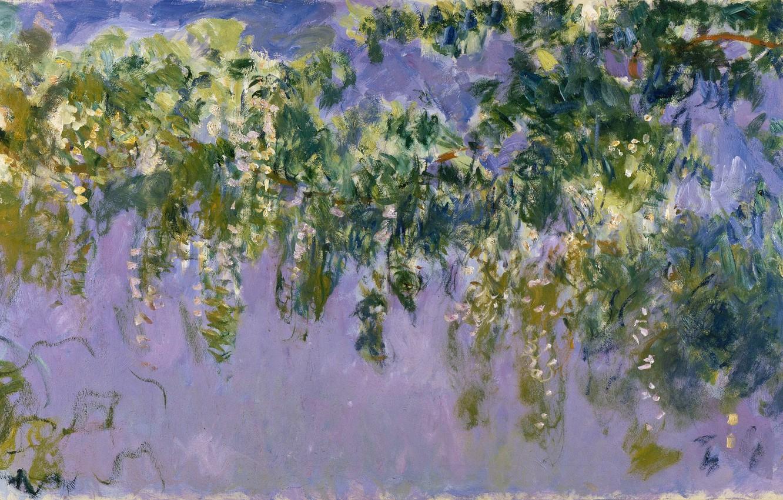 Photo wallpaper Claude Monet, Wisteria, 1917-1920