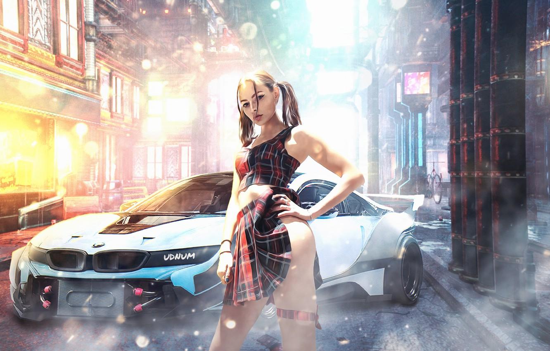 Photo wallpaper girl, girls, girl, cyberpunk, girls, cyberpunk, cyberpunk 2077, cybergirl, cyberpunk 2077