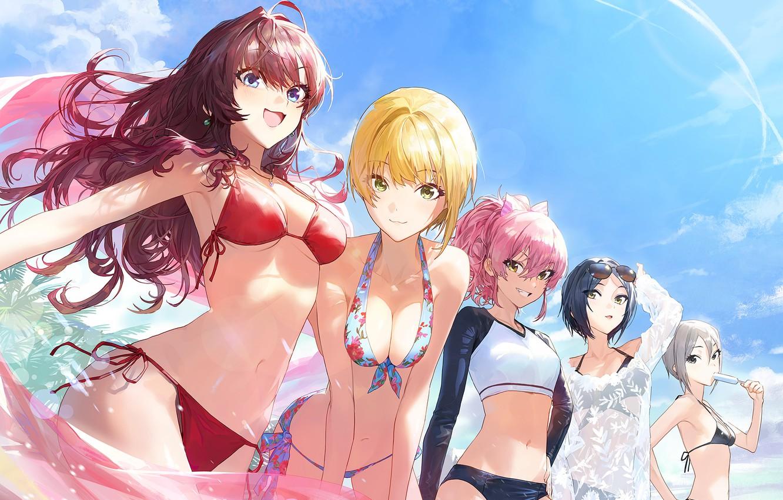Boob girls big anime Anime boob,