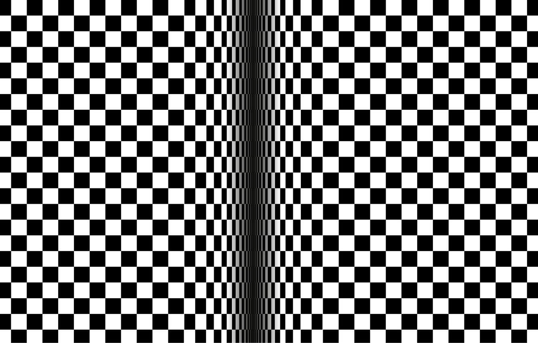 Wallpaper Squares Background Illusion Optical Illusion