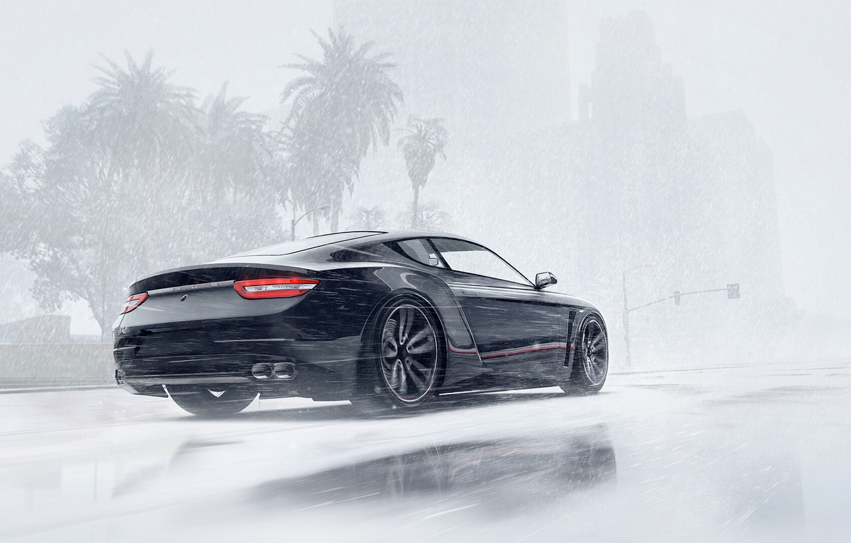 Photo wallpaper Winter, Auto, Snow, Machine, Car, Art, Winter, Snow, GTA, Grand Theft Auto V, Game Art, …