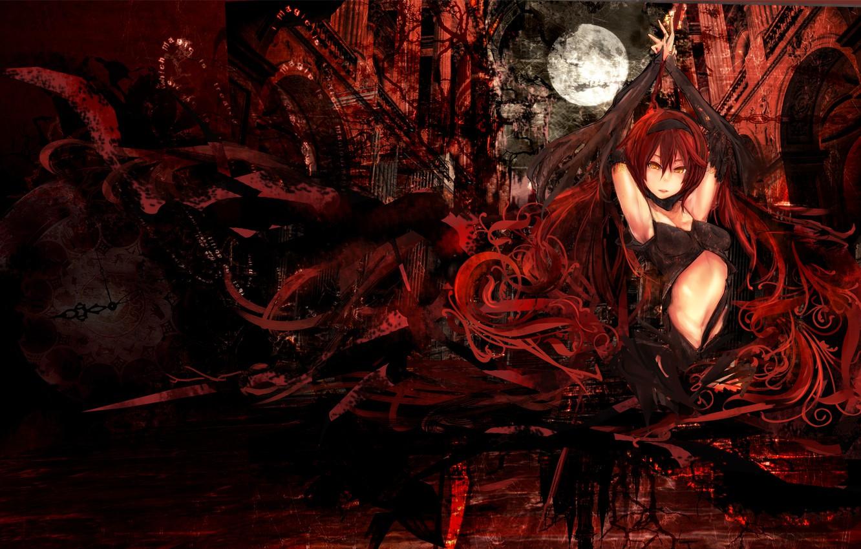 Photo wallpaper Girl, Fantasy, Anime