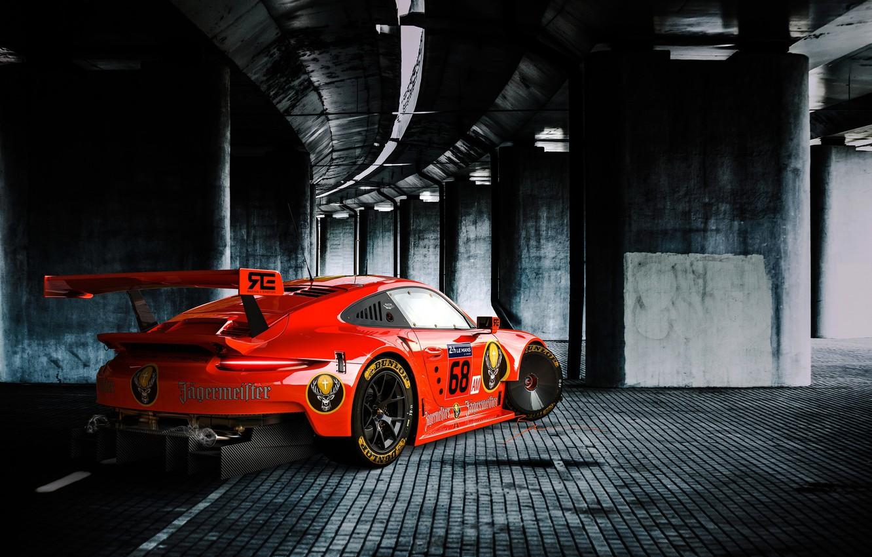 Photo wallpaper Auto, Porsche, Machine, Art, Rendering, Sports car, Game Art, Transport & Vehicles, Benoit Fraylon, by …