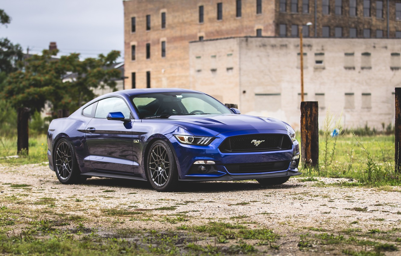 Photo wallpaper Mustang, Ford, Ford Mustang, Ford Mustang, Muscle Car