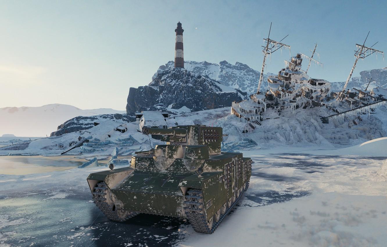 Photo wallpaper game, games, world of tanks, wot, o-ho