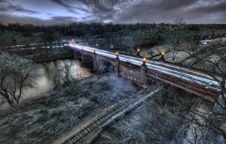 Photo wallpaper Pennsylvania, Philadelphia, Glen Willow, Schuylkill View