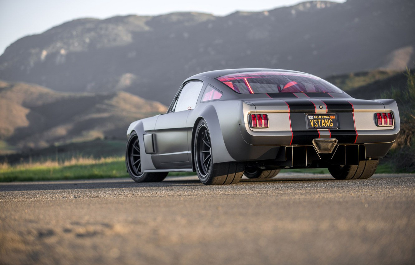 Photo wallpaper Ford Mustang, Custom, Vehicle, Vicious By Timeless