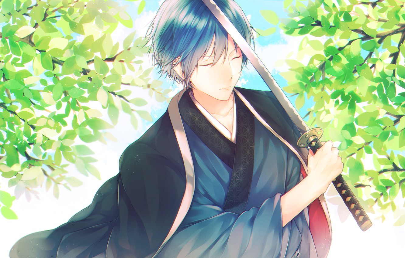 Photo wallpaper guy, vocaloid, Kaito