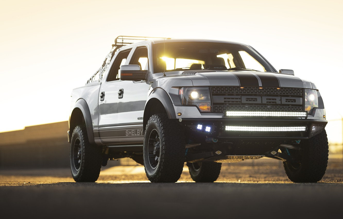 Photo wallpaper Shelby, Pickup, 2013, American Car, Ford F-150, Low 700
