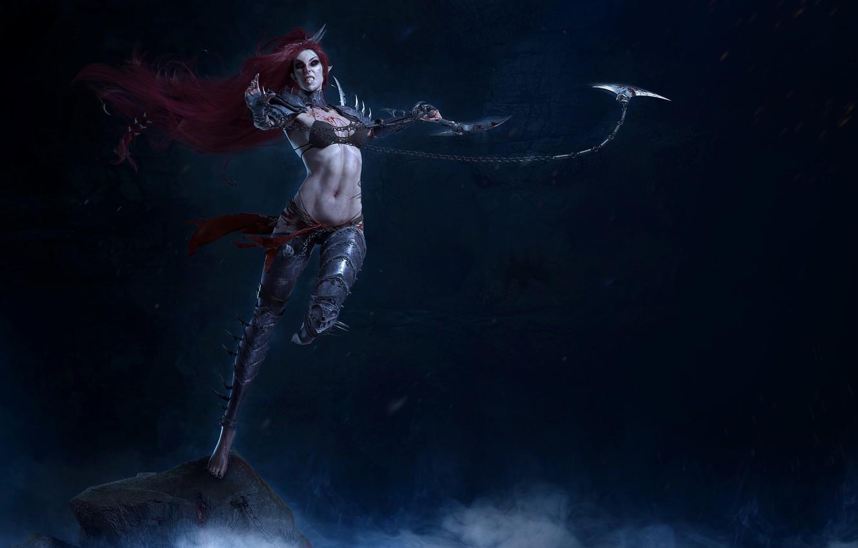 Photo wallpaper Warhammer, Warhammer 40 000, dark eldar, drukhari, Lalit Vesparax, Lelith Hesperax, drugari, dark Eldar