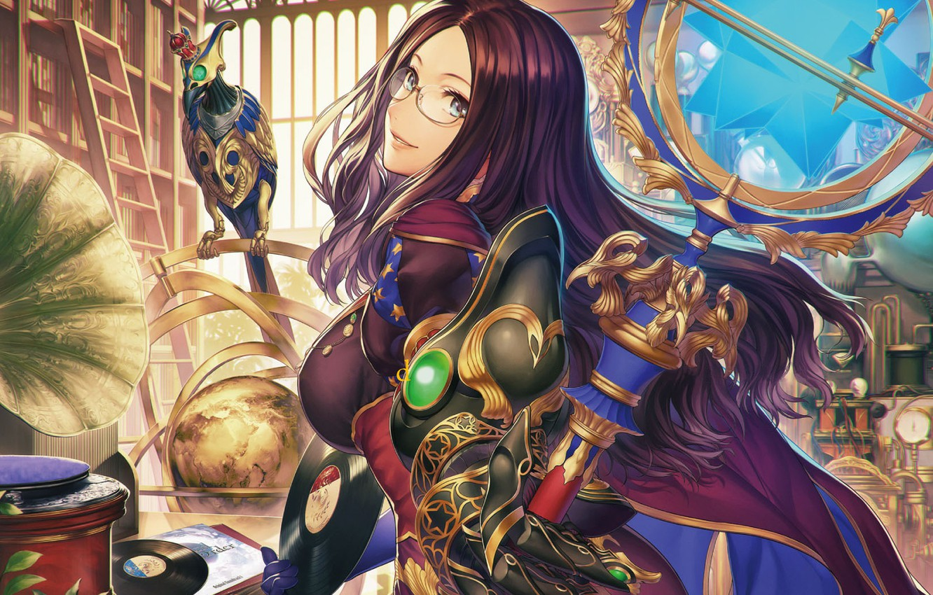 Photo wallpaper girl, anime, Fate / Grand Order, The destiny of a great campaign