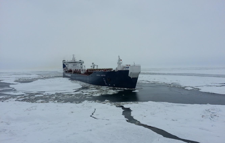 Photo wallpaper The ship, Tanker, Кирилл Лавров