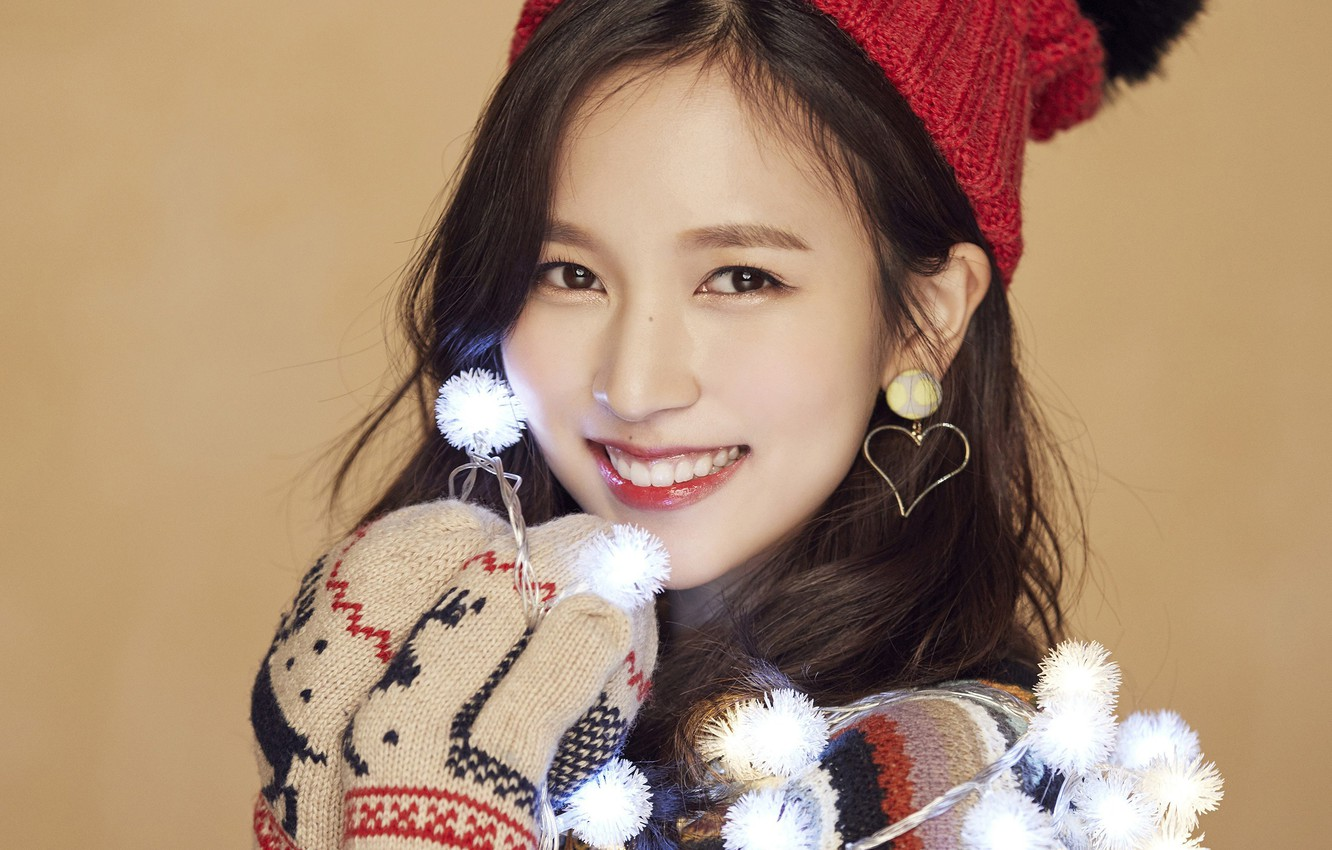 Wallpaper Girl Music Kpop Mina Twice Merry And Happy Images For Desktop Section Devushki Download